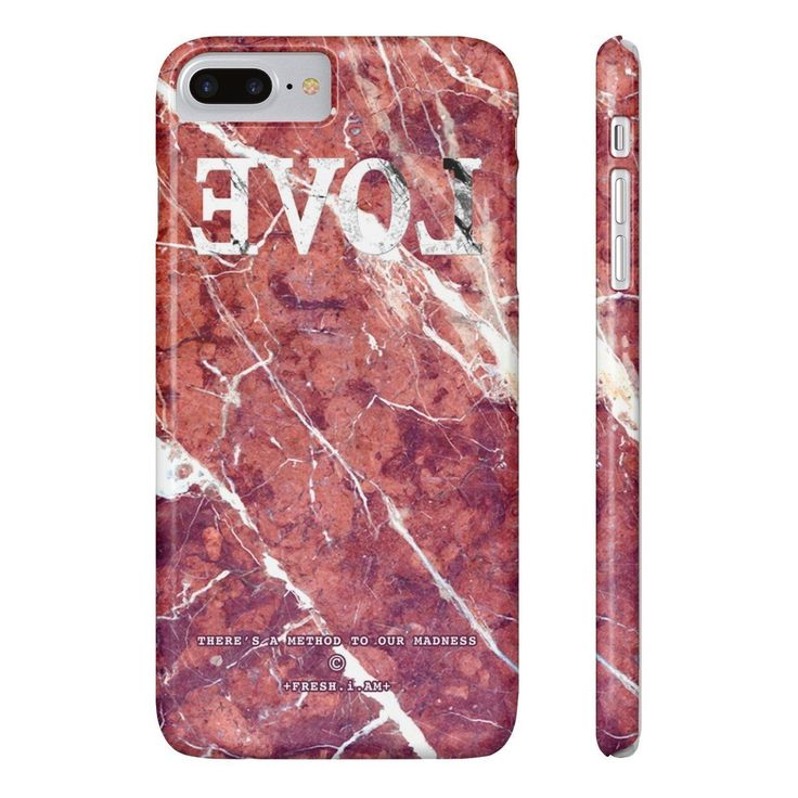 EVOL RED MARBLE iPhone cases