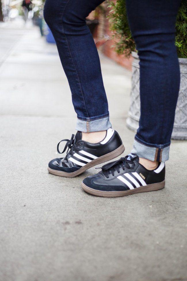 adidas samba trainers women