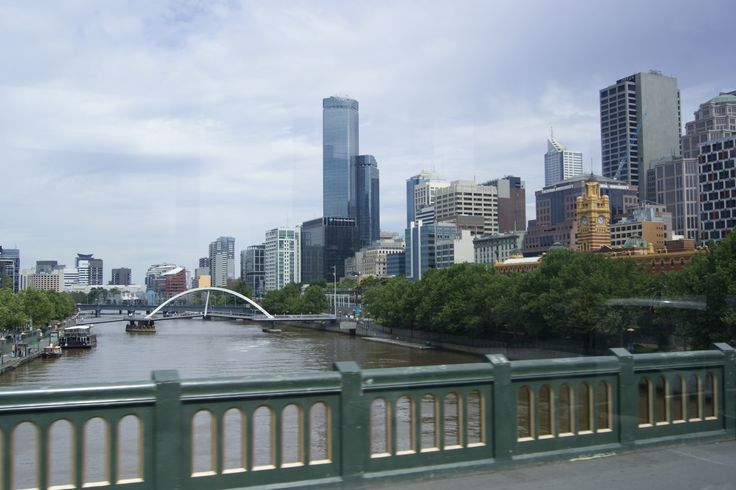 #Travel - The #Yarra River, #Melbourne, #Victoria, #Australia.  Photo: D Rudman