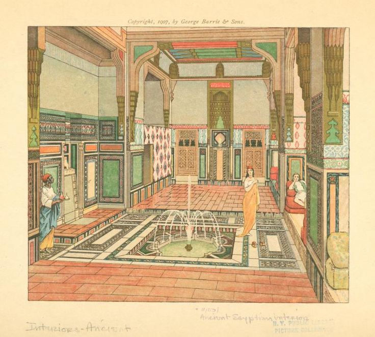 Ancient Egyptian Interior Architecture ancient egyptian interior. | housing | pinterest | york, libraries