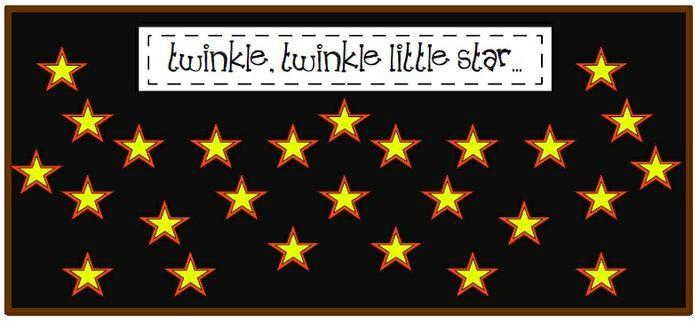 Preschool and Kindergarten Literacy Bulletin Board Idea