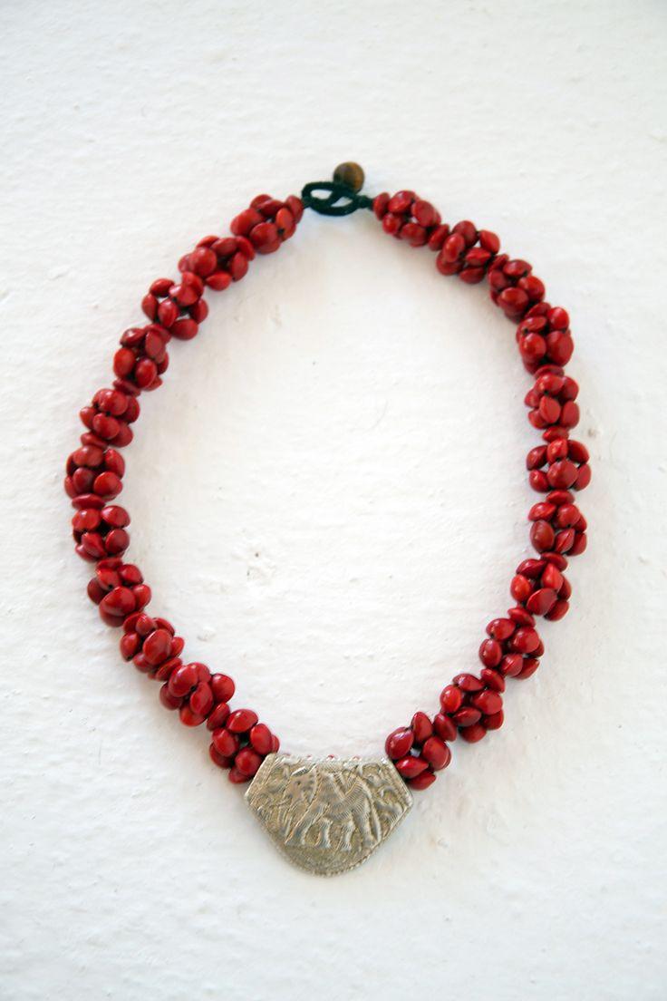 Jumbie Seeds Elephant Necklace