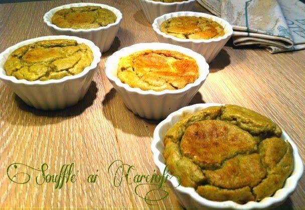 Cucinando tra le nuvole: Soufflè ai Carciofi...........