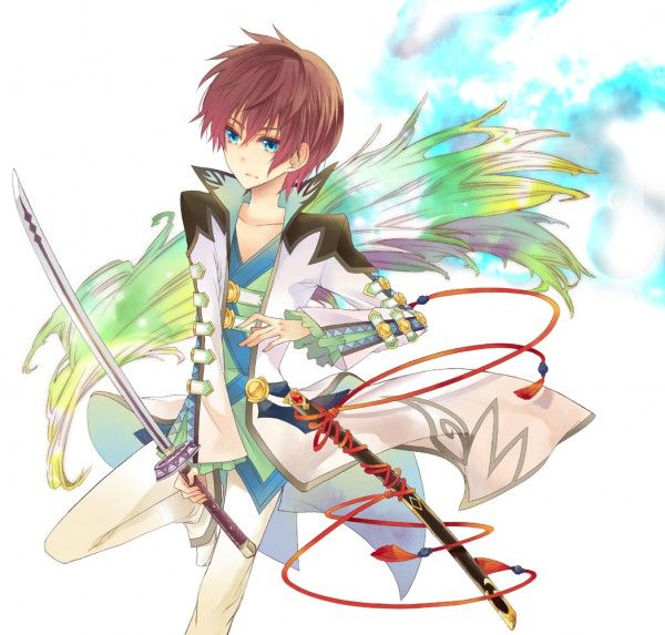 Tags: Anime, Tales of Graces, Asbel Lhant, Nagarete Toira