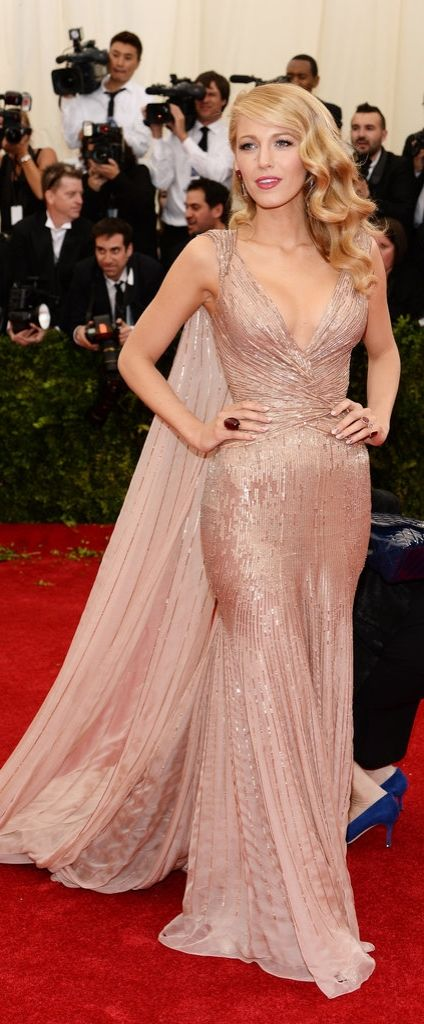 Blake Lively did Gucci proud when she arrived in a dazzling confection at the 2014 Met Gala.