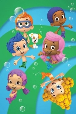 Bubble Guppies......my little man and I love watching this, it is such a good cartoon for little ones!!!