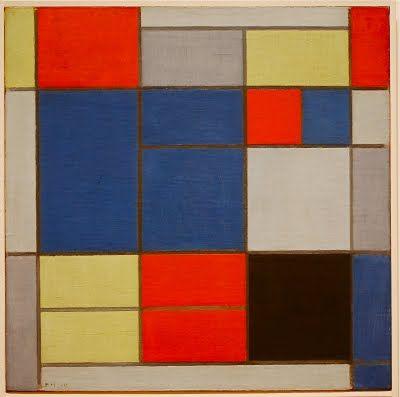 Piet Mondrian Paintings | NYC ♥ NYC: PIET MONDRIAN'S Paintings