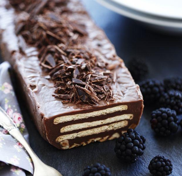 Glem alt om kiksekage med tung og fedtet palmin. Vi har lavet en forbedret version med ægte smør og masser af god chokolade!