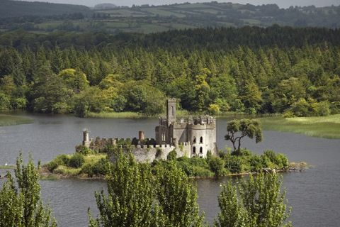 'McDermott Castle, Castle Island, Lough Key, Co. Roscommon, Ireland'. Photo by Greg Clarke