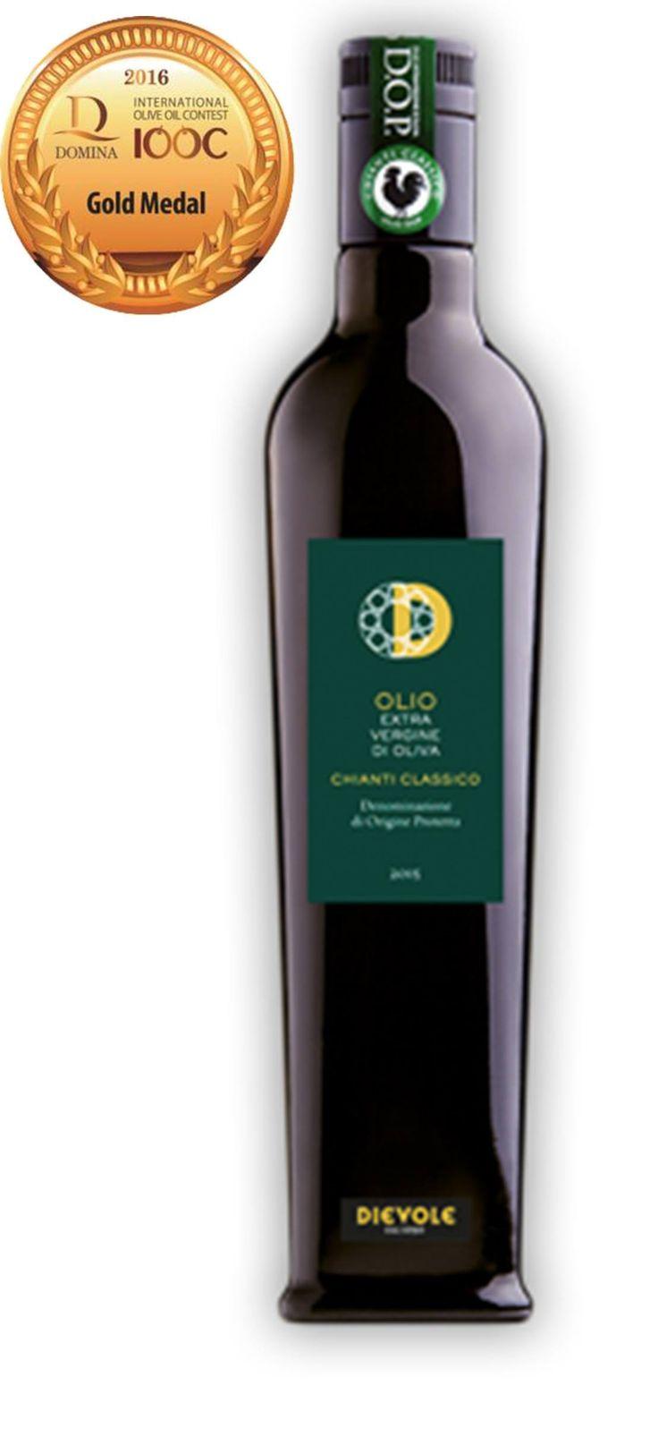 Olio Di Dievole Olio Extravergine Di Oliva Dop Chianti Classico Leccino Gold Medal al D-IOOC