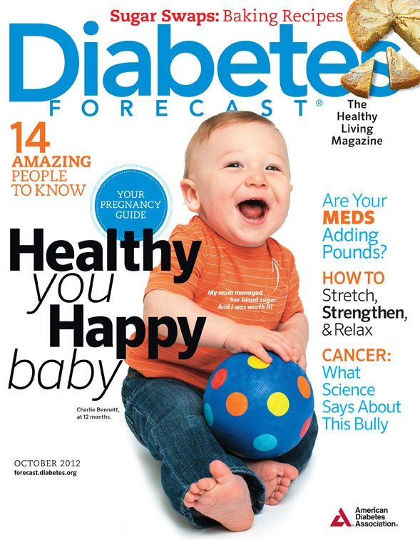 October 2012 issue of Diabetes Forecast, The Healthy Living Magazine!