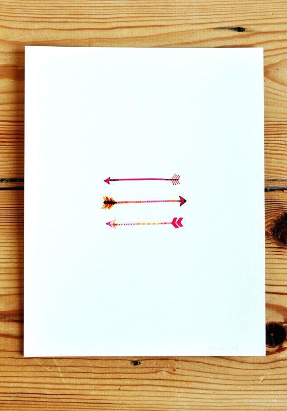 arrows print by Amy Marcella