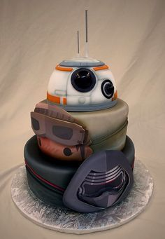 This 'Star Wars: The Force Awakens' cake