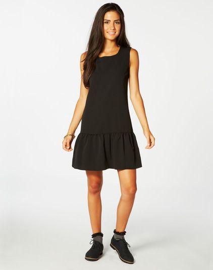 Short, Textured Drop Hem Dress, Buy Online