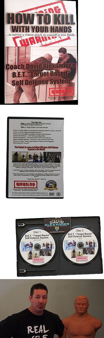 Other Martial Arts Weapons 179796: Self Defense Dvd Set - How To Kill With Your Hands...2 Disc Set -> BUY IT NOW ONLY: $39.95 on eBay!