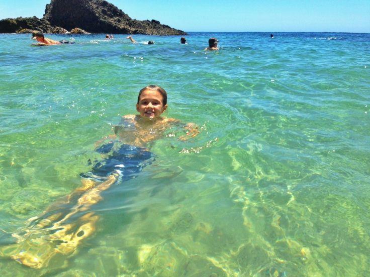 Woods Cove Beach in Laguna Beach - The best snorkeling in Orange County and beautiful.