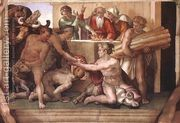 Sacrifice of Noah 1509  by Michelangelo Buonarroti