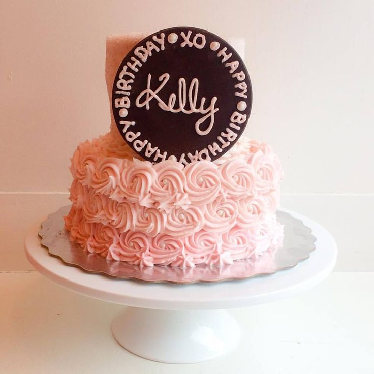 Happy Birthday to our very own Kelly Childs! We love you and this gorgeous cake! Xo  #kellystribe #cakes #happybirthday