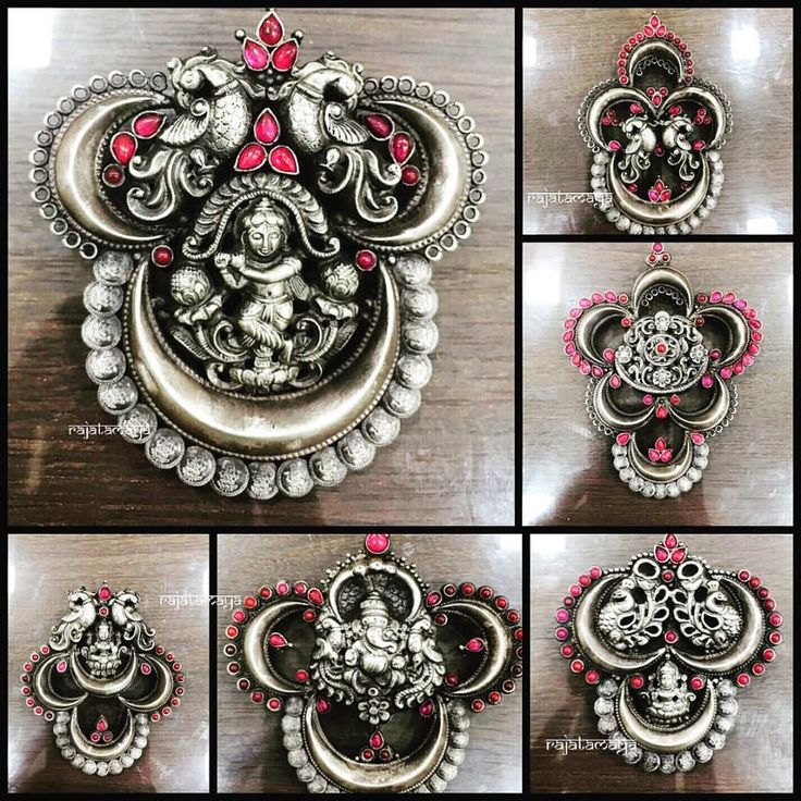 Pendants- Large and clear pendant with epic details and thread work chain to carry it off is perfect to transform your look from simple to festive. www.shopzters.com