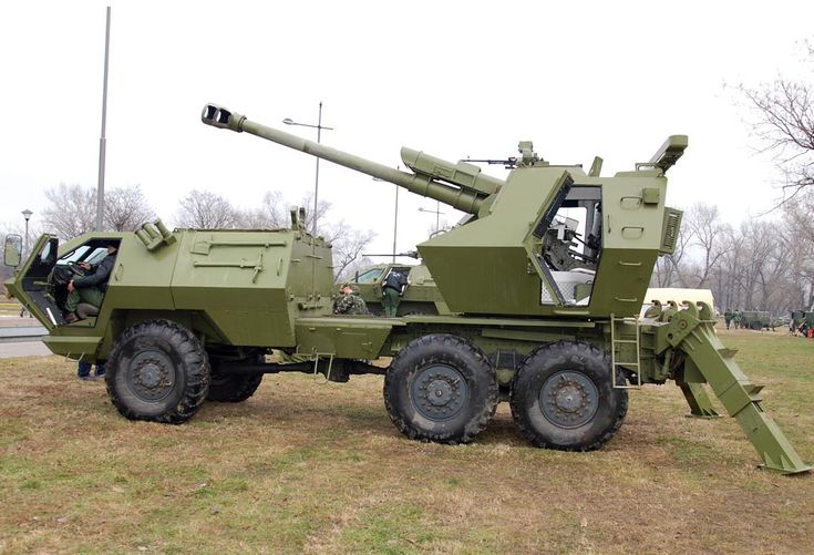 "self propelled artillery | Serbian Self-Propelled Howitzer ""SOKO"" (""Hawk"") image - Artillery ..."