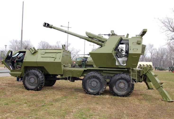 "self propelled artillery   Serbian Self-Propelled Howitzer ""SOKO"" (""Hawk"") image - Artillery ..."