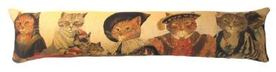 Aristocats Belgian Tapestry Draught Excluder