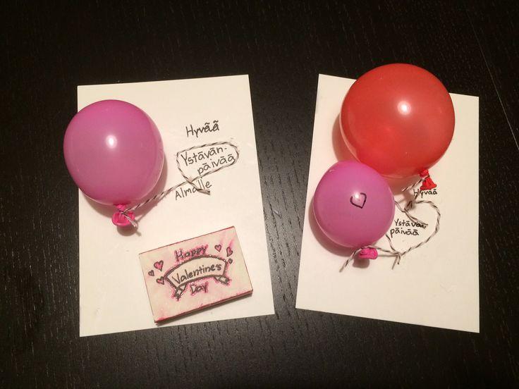 Katsojan toteuttamat ystävänpäiväkortit