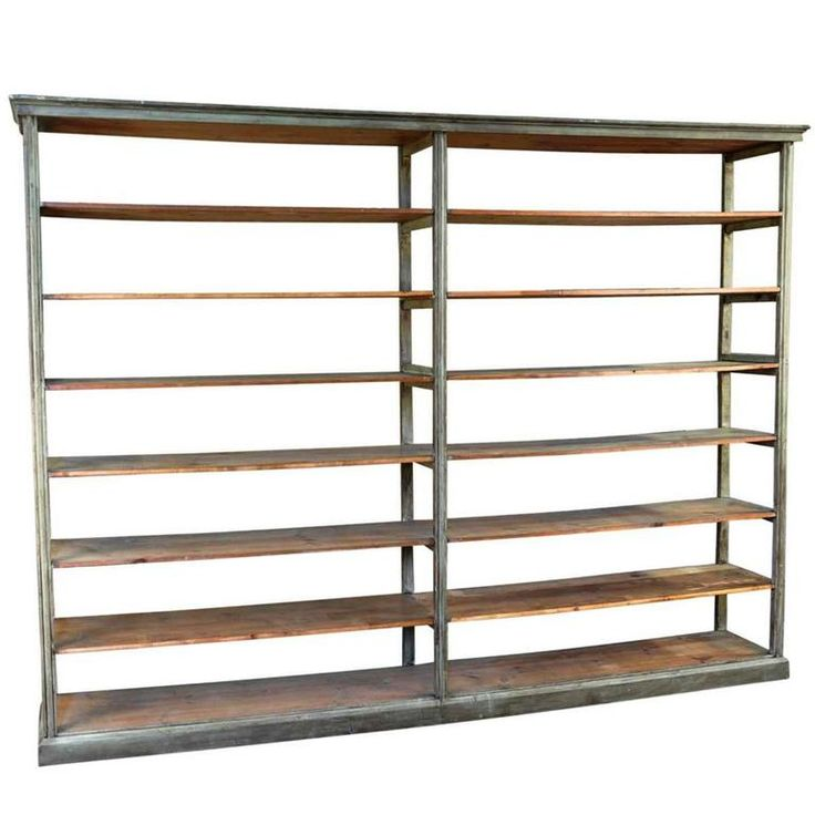 Spanish 19th Century Bookcase   From a unique collection of antique and modern bookcases at https://www.1stdibs.com/furniture/storage-case-pieces/bookcases/