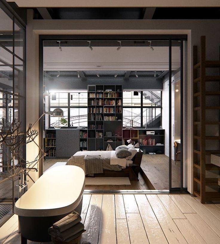 2 chic and cozy cosmopolitan lofts interior design ideas