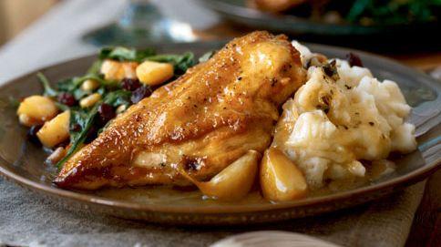 Garlic Chicken With White Wine Sauce | Yummies | Pinterest