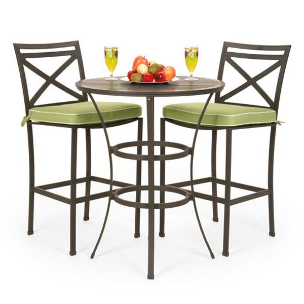 San Michele Aluminum Outdoor Bar Height Patio Set | Family Leisure - 25+ Best Ideas About Bar Height Patio Set On Pinterest Brown
