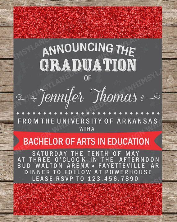 As 9 melhores imagens em graduation cards insides no pinterest graduation announcement graduation invitation by whimsylanedesign 1500 stopboris Gallery