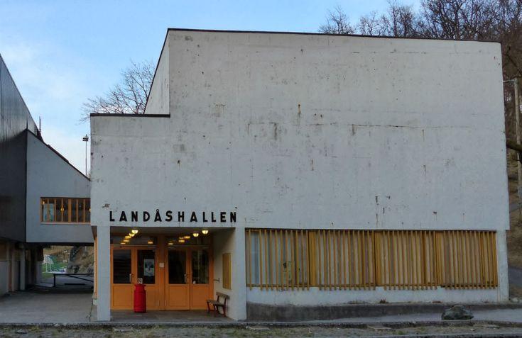 Arkitekturvandring i Bergen: Landåshallen, Kåre Frølich