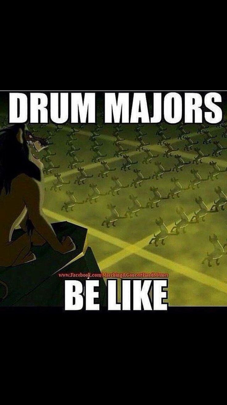 How come these hyenas have better 8 to 5s and better body facing than most marching bands?