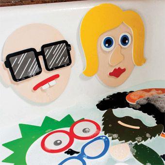 Meadow Kids Badstickers grappige gezichten