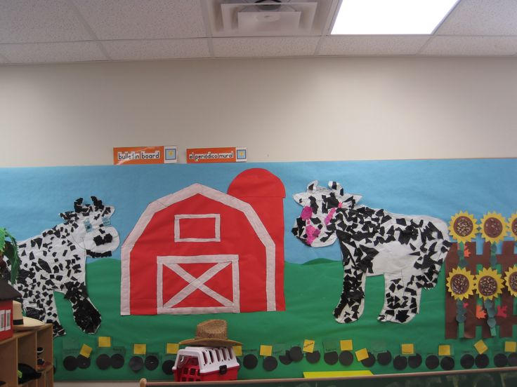 Classroom Door Decoration Spring ~ Best images about preschool farm on pinterest cow