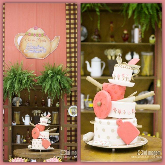 Chá de Panela da Carolina   Noivinhas de Luxo