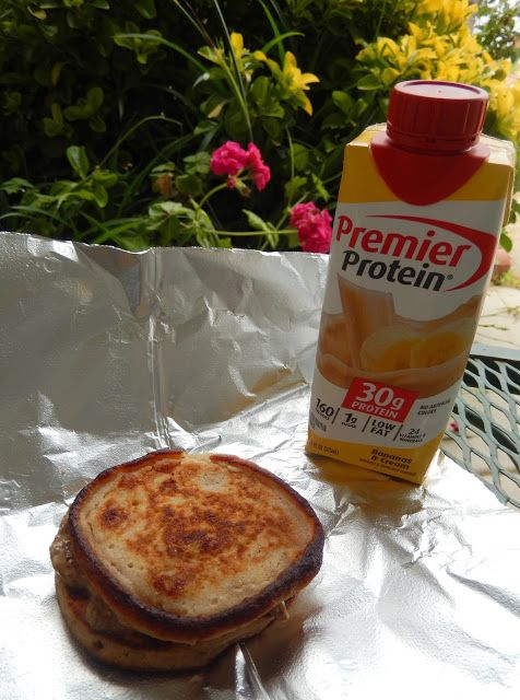 Healthy Breakfast Recipes: Ricotta Pancakes and Premier Protein Shake Weight Loss Surgery Bariatric Recipes Fitness