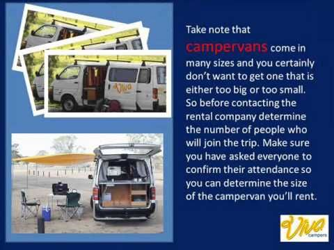 ▶ How To Choose The Right Campervans To Rent - YouTube -Viva Campers