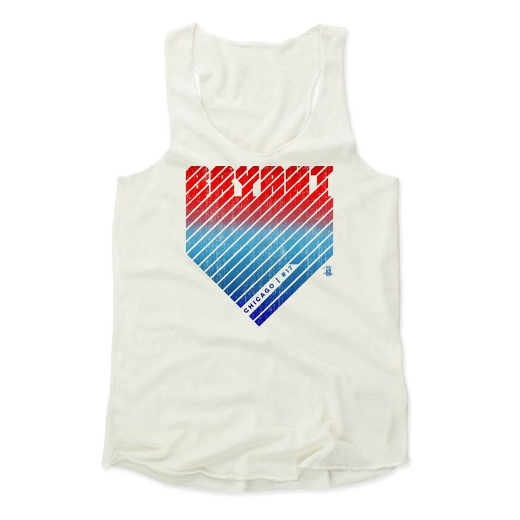 Kris Bryant Home R Chicago MLBPA Officially Licensed Women's Tank Top S-XL