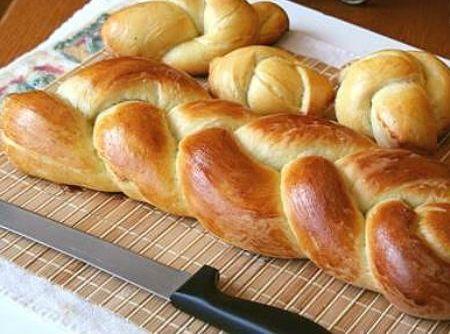 Veja como fazer o pão doce Trança Suíça! Massa fofa e macia, ideal para comer…