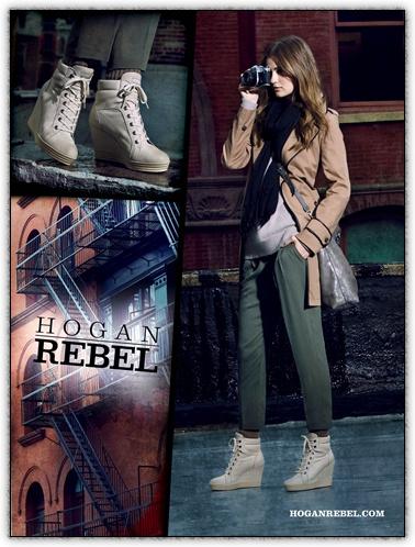 HOGAN REBEL Woman Fall - Winter 2012/13 Campaign