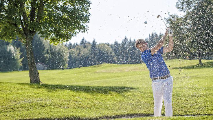 Das #Muehlviertel ist mit 6 abwechslungsreichen #Golflaetzen ein #Mekka fuer #Golffans. Mehr dazu unter http://www.muehlviertel.at/golfen