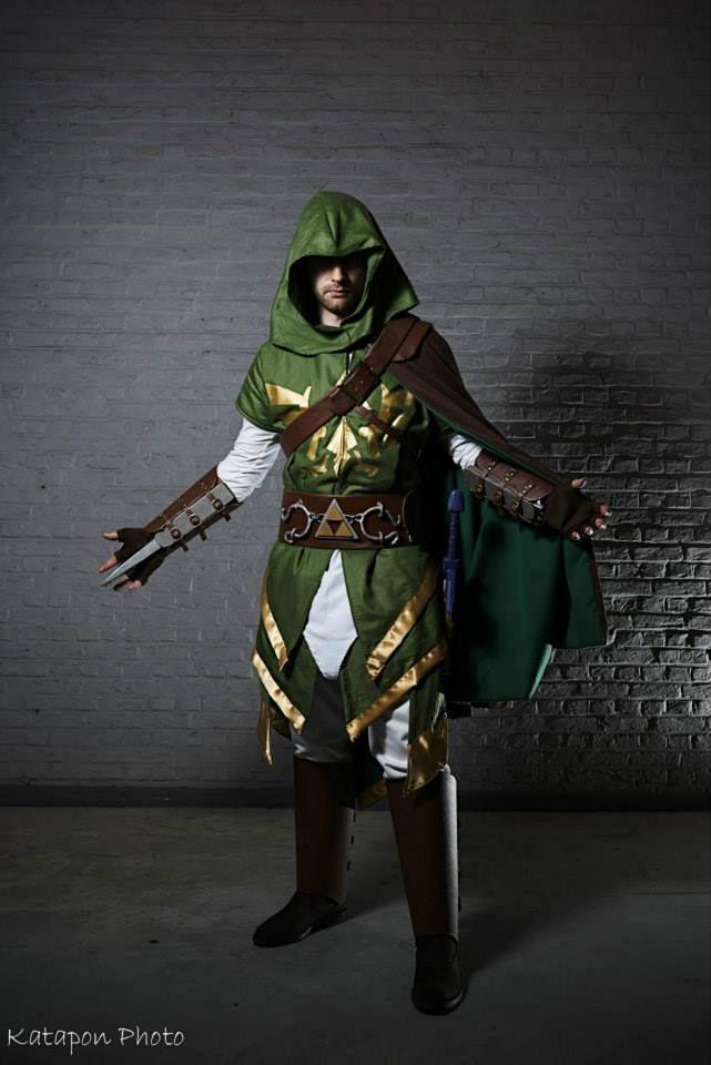 Assassin's Link by Nuno Cosplay (France)   #Zelda #AssassinsCreed