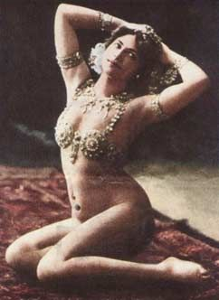 Mata Hari, the oriental dancer spy from the Netherlands