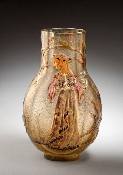 Váza | Emile Gallé | 1884 | Www.Esbirky.Cz | CC0