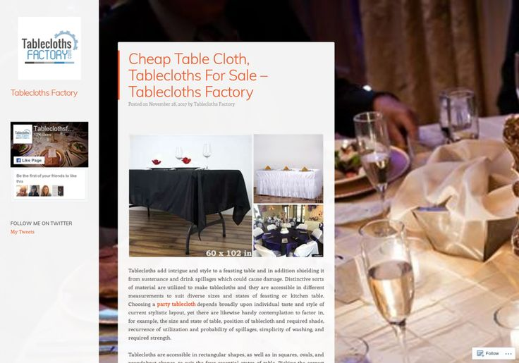 Quality Tablecloths For Sale – Tablecloths Factory Infographic