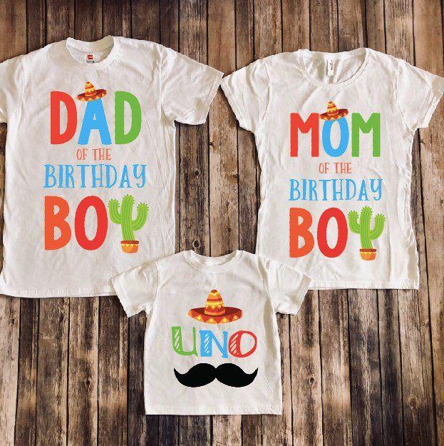 first birthday fiesta shirt