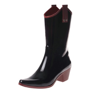 @Overstock - These women's stylish rain boots from Henry Ferrera feature a cowboy style with contrast fashion colored trim and sole. These mid-calf boots are complete with a pointed toe and rubber upper.http://www.overstock.com/Clothing-Shoes/Henry-Ferrera-Womens-Cowboy-Rain-Boot/7396411/product.html?CID=214117 $39.99
