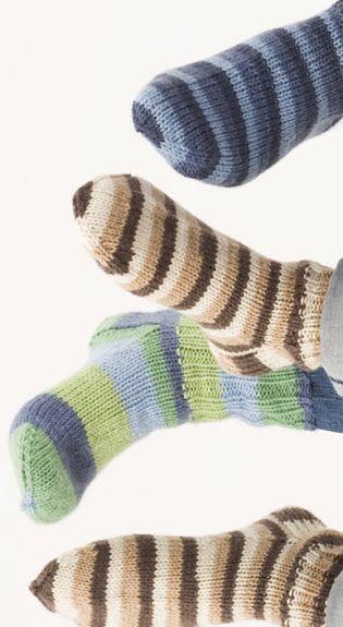 Kokomitat sukille & lapasille Novita-langoilla neulottaessa